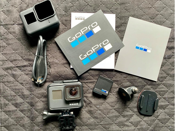 Go Pro Hero 7 Black, Seminova, Completa