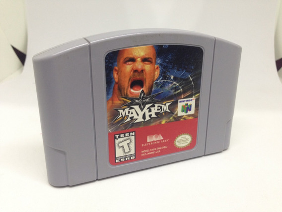 Wcw Mayhem - Nintendo 64 - Cartucho Original