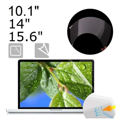 Imagen 1 de 4 de Mica Protectora De Pantalla Para Laptop 10.1 14 Y 15.6 PuLG