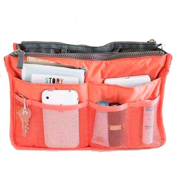 Organizador De Cartera Bolso Neceser Bag, Bazar_19, Local En Flores !