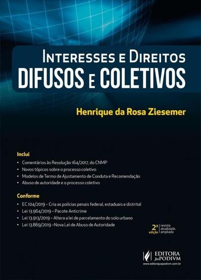 Interesses E Direitos Difusos E Coletivos - Juspodivm