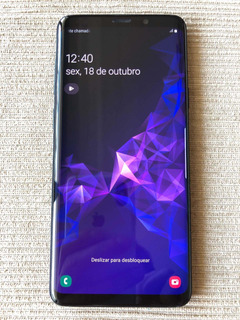 Samsung Galaxy S9+ Plus 128gb S9 Novo De Vitrine Burn In