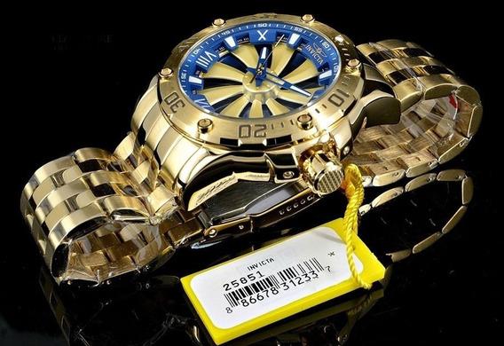 Relógio Invicta Speedway 25851 Automático Original Dourado