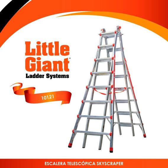 Escalera Telescópica Skyscraper 21 Little Giant 10121 +envio