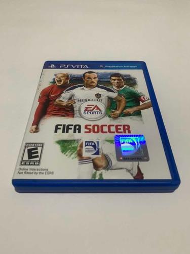 Fifa Soccer Ps Vita Jogo Original Playstation Portátil Game
