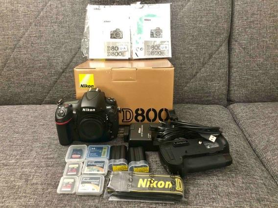 Nikon D800 Fullframe. Bem Dizer Zero Km.