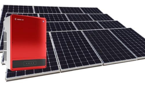 Imagen 1 de 3 de Kit De 16 Paneles Solares 385w Instalado Genera 1620kwh Bim