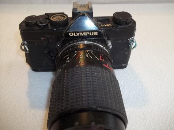 Antiga Olympus Om-1 Maquina Camera Fotografica Defeito