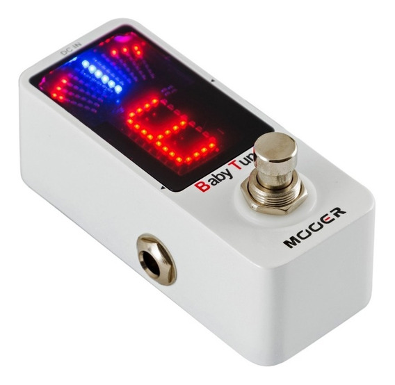 Pedal Afinador Guitarra Bajo Mooer Baby Tuner Micro