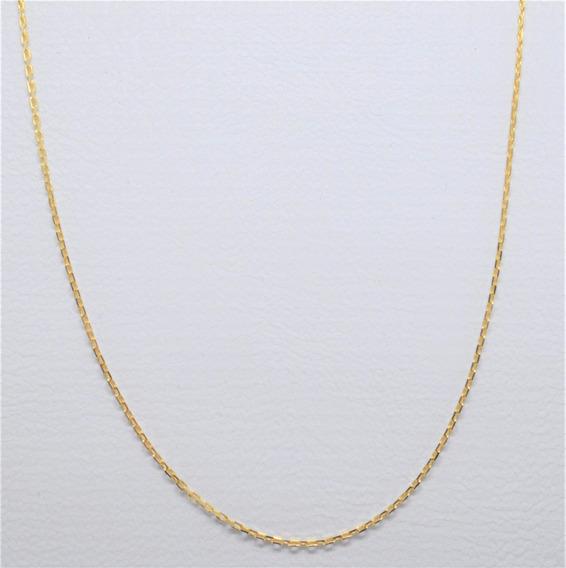 Corrente Cartier 45cm Ouro 18k 1,50g Frete Grátis