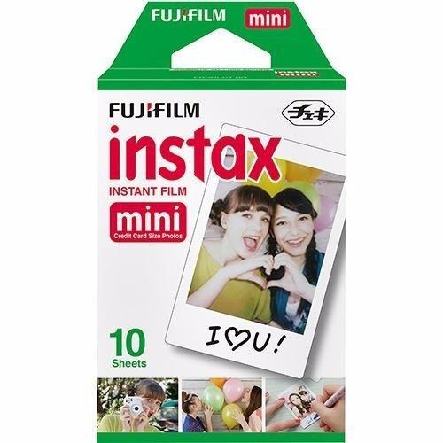 Filme Instantâneo Instax Mini - Pack Com 20 Fotos