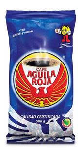 Café En Grano Molido Águila Roja 500gr.