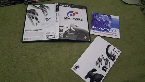 Gran Turismo 4 Somente Caixa + Manual Do Ps2 Sem Jogo .