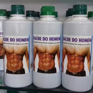 Saúde Do Homem Kit 3 Frascos C/500ml