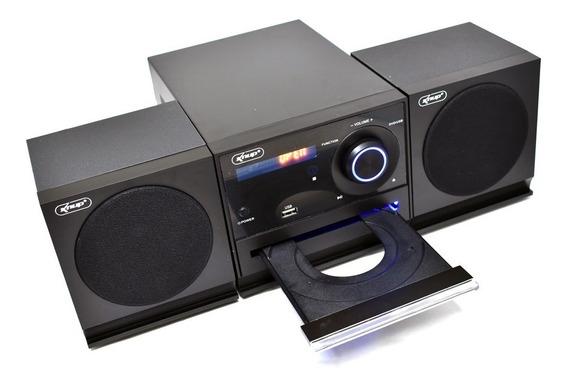 Caixa Som Micro System 2.1 Bluetooth 50w Fm Pc Bivolt Cd Dvd