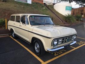 Chevrolet/gm Veraneio De Luxo Placa Preta Raridade