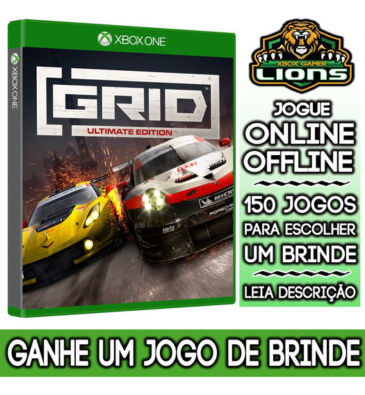 Grid Ultimate Edition Xbox One + Brinde