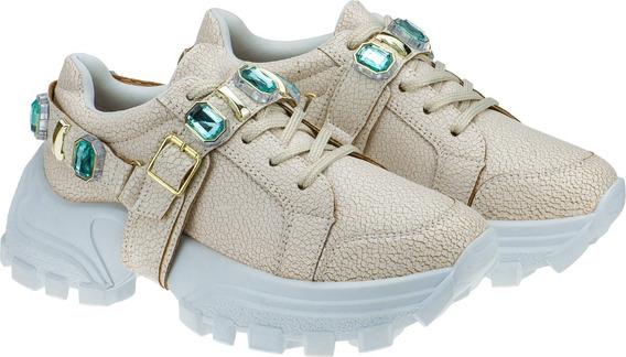 Tenis Plataforma Feminino Sapato Casual Alto Lançamento G13