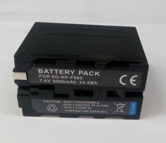 Bateria Np-f-960 Para Iluminadores De Led Monitor F960 Longa