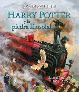 Harry Potter 1 - La Piedra Filosofal - Ilustrado - Rowling