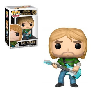 Figura Funko Pop Rocks Music - Kurt Cobain 65