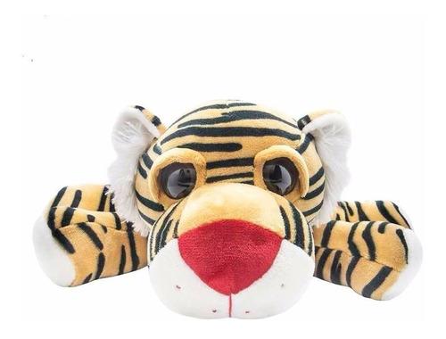 Peluche Tigre Echado Upton 43 Cm Funny Land Cresko Wo672