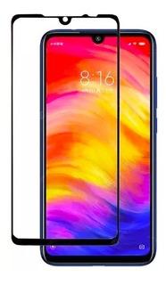Pelicula Vidro 3d 5d Xiaomi Redmi Note 7 Tela Total