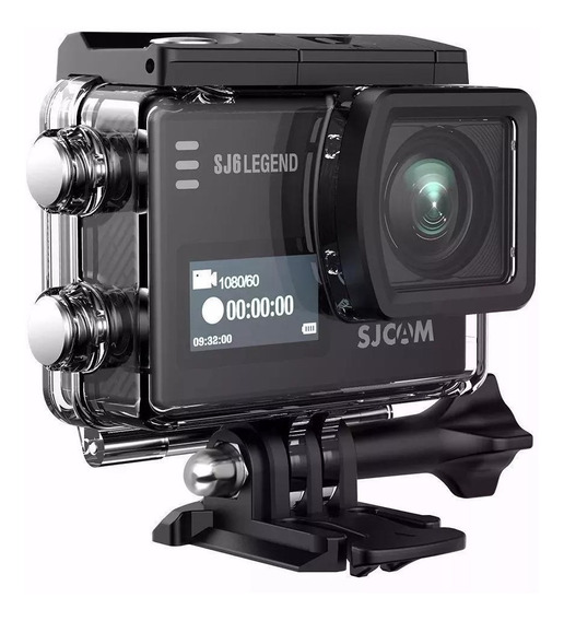 Camera De Ação Sjcam Sj6 Legend Touch Screen 4k 16mp Wifi