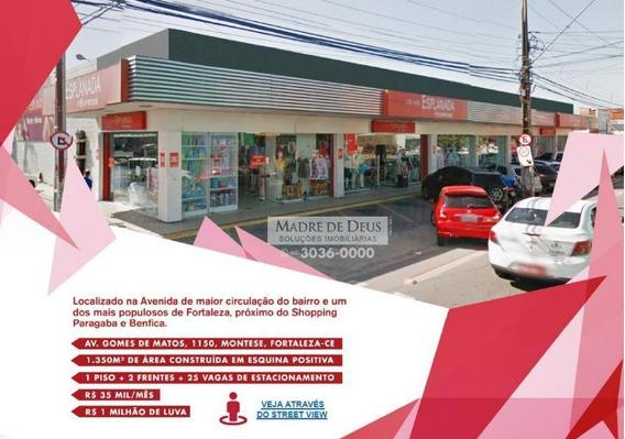 Loja Comercial,fortaleza-ce, Montese, Av. Gomes De Matos - Lo0036