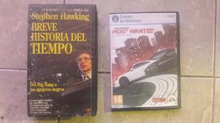 Juego Need For Speed + Documental Historia Del Tiempo Vhs