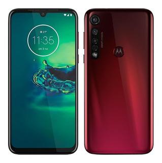 Smartphone Motorola Moto G8 Plus, Cereja, Dual Chip,tela 6,3