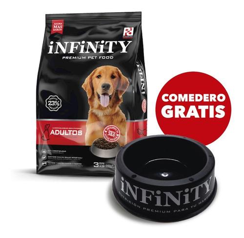 Alimento Perros Adultos Infinity Premium 3 Kgs