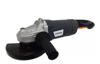 Amoladora Angular Gladiator 230mm Profesional 2300w +5discos