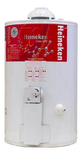 Termotanque multigas Heineken ADN AP-50 blanco 50L