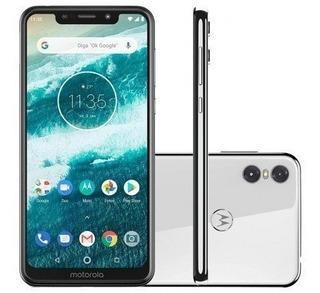 Smartphone Motorola Moto One 64gb Xt1941 Desbloqueado Branco