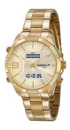 Relógio Speedo Dourado Feminino 15014lpevde1 - Nfe/original