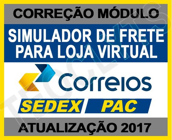 Script Upgrade Frete Correios Loja Interspire Pac Sedex 2017