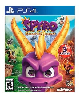 Spyro Reignated Trilogy Ps4 Nuevo Fisico Sellado