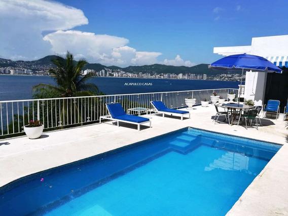 Casa En Acapulco Renta Vacacional