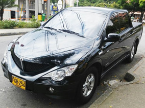 Impecable Ssangyong Actyon Sport 2008 Diesel Mecanica 4x4