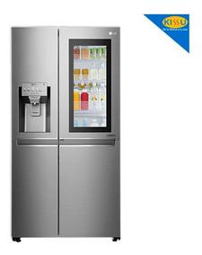 Refrigeradora Lg 601 Lts 20pies Instant View Toc Toc