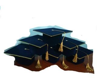 Birrete Graduacion Kinder, Octavo Basico, Cuarto Medio
