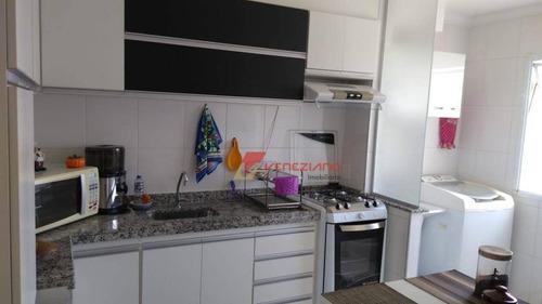 Apartamento À Venda, 55 M² Por R$ 150.000,00 - Jardim Nova Iguaçu - Piracicaba/sp - Ap0806