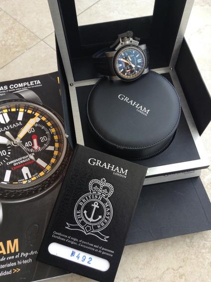 Reloj Graham Commander Chronofighter Oversize 46mm Full Set