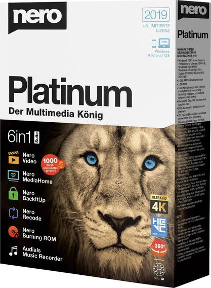 Nero Platinum 2019 Suite Original Pt/br - Envio Imediato