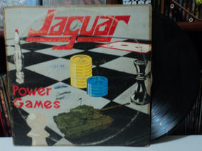 Lp-vinil:jaguar:power Games:heavy Metal:rock:1982
