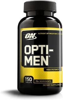 Opti-men 150 Tablets Optimum Nutrition Importado Original