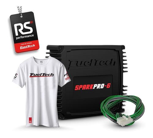 Imagem 1 de 6 de Fueltech Sparkpro-6 (spark Pro 6) + Brindes + 12x Sem Juros