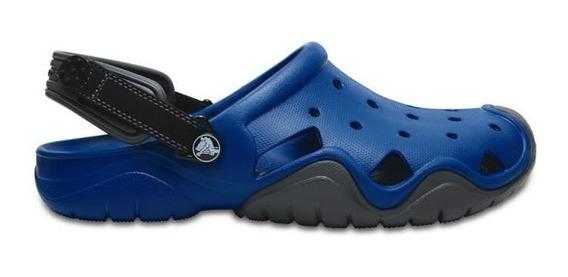 Zapato Crocs Caballero Swiftwater Clog Azul