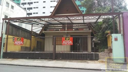 Sobrado Comercial Em Rua Tranquila À 500 Metros Do Shopping Eldorado - Eb83859